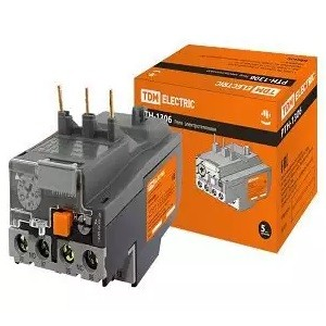 Реле электротепловое РТН-1306  1,0-1,6А TDM