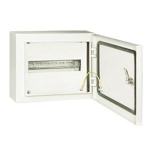 Корпус металлический ЩРН-12 IP66 НЕСТАНДАРТ (265х330х120) RAL 7035 TDM