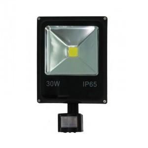 GLANZEN FAD-0012-30  (30 Вт, 6000 К, SIP) - Светодиодный прожектор c датчиком движения