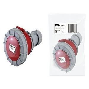Розетка кабельная IP67 32А 3Р+РЕ 380В TDM