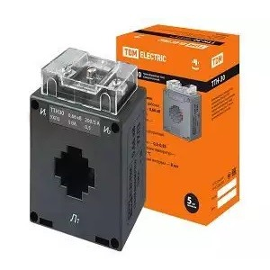 Трансформатор тока измерительный ТТН  30/200/5- 5VA/0,5 TDM