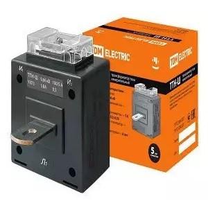Трансформатор тока измерительный с шиной ТТН-Ш 100/5- 5VA/0,5 TDM