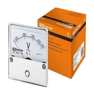 Вольтметр В80П 500В-2,5, (поверенный), TDM