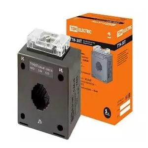 Трансформатор тока измерительный ТТН  30T/250/5- 5VA/0,5S TDM