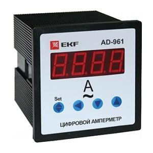 АМ-D961 Амперметр цифровой на панель (96х96) однофазный EKF