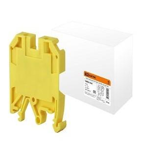 Зажим наборный ЗНИ-10мм2 (JXB70А) желтый TDM