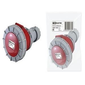 Розетка кабельная IP67 16А 3Р+РЕ 380В TDM