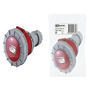 Розетка кабельная IP67 16А 3Р+РЕ+N 380В TDM