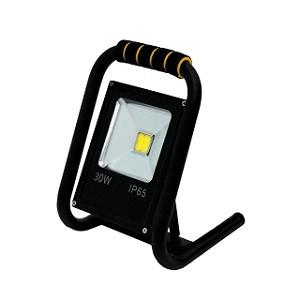 GLANZEN FAD-0015-30 (30 Вт, 6000 К, SIP) - Светодиодный прожектор переносной
