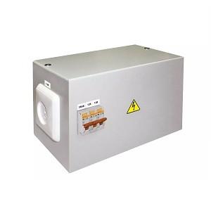 Ящик с трансформатором понижающим ЯТП-0,25 380/12-3авт. TDM