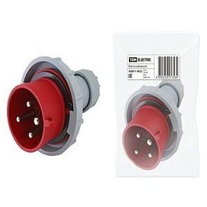 Вилка кабельная IP67 32А 3Р+РЕ 380В TDM