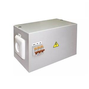 Ящик с трансформатором понижающим ЯТП-0,25 380/24-3авт. TDM
