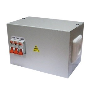 ЯТП-0,25 380/36-3 автомата TDM - Ящик с трансформатором понижающим