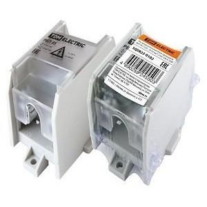 Распределительный блок проходной РБП 95 (1х95 - 4х16 мм2) 232/100 А TDM