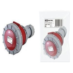 Розетка кабельная IP67 32А 3Р+РЕ+N 380В TDM