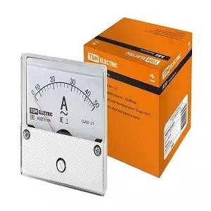 Амперметр А80ПН 50А-2,5, (без поверки), TDM