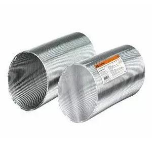 Воздуховод гофрированный алюминиевый Ø160 TDM