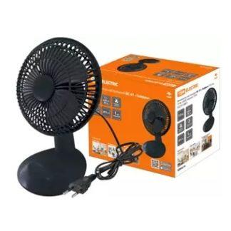 """Вентилятор настольный ВС-01 """"Тайфун"""" D15 см, 15 Вт, 230 В, черный, TDM"""