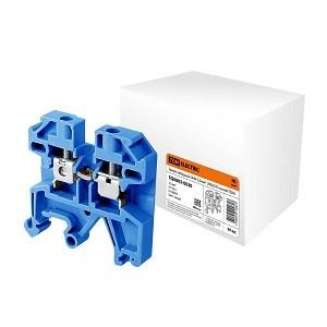 Зажим наборный ЗНИ-2,5мм2 (JXB25А) синий TDM