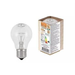 Лампа накаливания А50 230-40 Е27 Народная