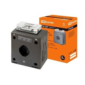 Трансформатор тока измерительный ТТН  30T/300/5- 5VA/0,5S TDM
