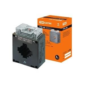 Трансформатор тока измерительный ТТН  40/600/5- 5VA/0,5S TDM