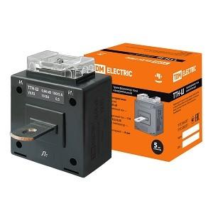 Трансформатор тока измерительный с шиной ТТН-Ш 100/5-10VA/0,5 TDM