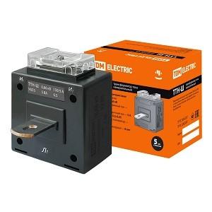 Трансформатор тока измерительный с шиной ТТН-Ш 150/5- 5VA/0,5 TDM