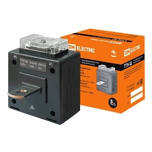 Трансформатор тока измерительный с шиной ТТН-Ш 250/5- 5VA/0,5 TDM