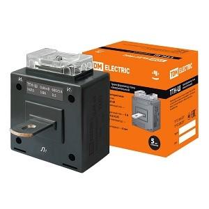 Трансформатор тока измерительный с шиной ТТН-Ш 600/5- 5VA/0,5 TDM