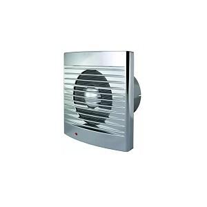 Вентилятор бытовой настенный 100 С-2, хромTDM