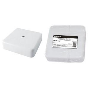 Коробка распаячная КР 100х100х29 ОП белая, IP40, инд. штрихкод TDM