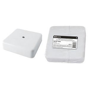 Коробка распаячная КР 100х100х29 ОП белая, IP40, с клем. колодкой, инд. штрихкод TDM