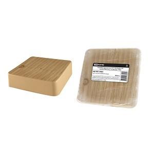 Коробка распаячная КР 75х75х20 ОП сосна IP40, инд. штрихкод TDM