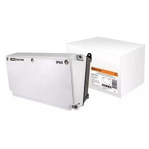 Корпус распределительного устройства КРУ, (190х265х170 мм), с устан. панелью (235х125 мм), IP65, TDM