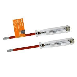 """Отвертка-пробник (индикатор) 150 мм, 100-500В """"ЭкспертЭлектрик"""" TDM"""