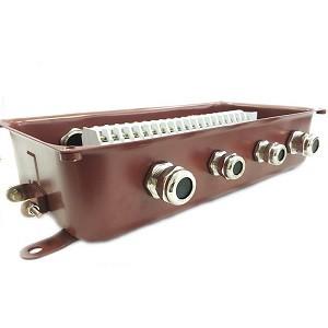 Коробка клеммная У615А УХЛ1,5 IP65 латунный ввод ЗЭТА