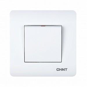 1-клавишный выключатель 10А 250В (CHINT)