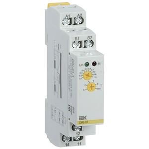 Реле тока ORI. 0,1-1 А. 24-240 В AC / 24 В DC IEK