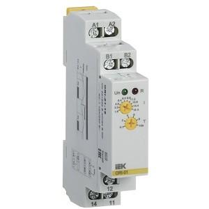 Реле тока ORI. 1,6-16 А. 24-240 В AC / 24 В DC IEK