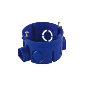 Коробка распаячная для наружного монтажа, RAL 7035, 6 гермовводов, 100х100х50мм, IP44 (CHINT)