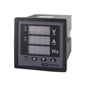 Цифровой многовеличинный прибор ЦП-АВЧ72х3-0,5-Р (однофазный) (0-50кА, 0-320кВ, 40-70Гц) TDM